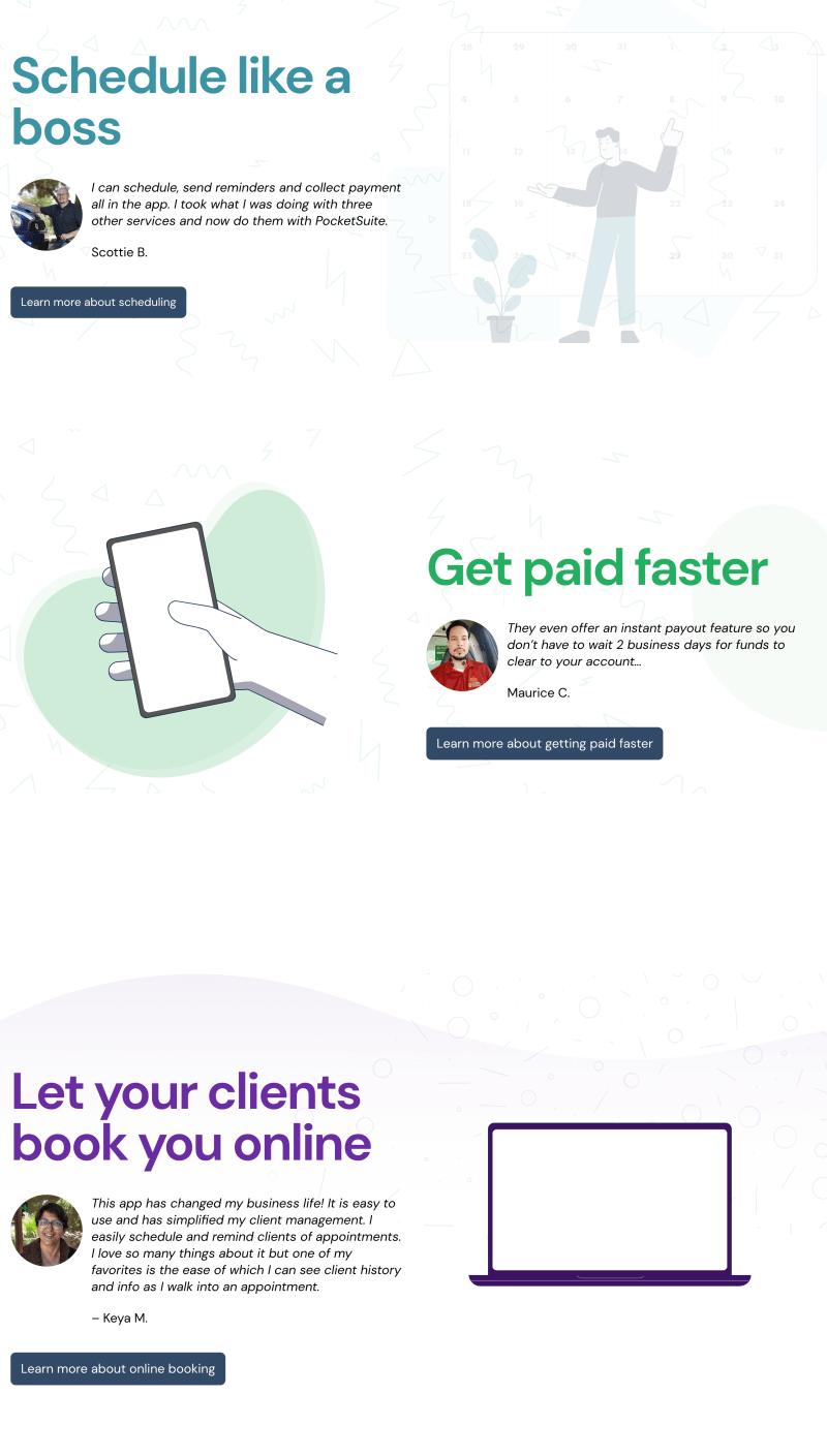 Pocket Suite  screenshot