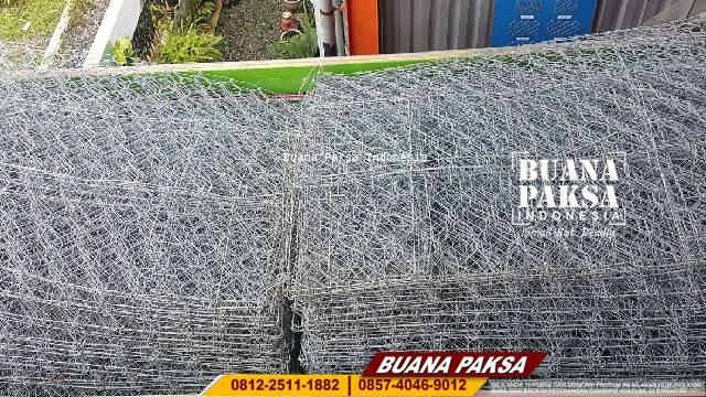 Jasa Pemasangan Kawat Bronjong  PVC daerah Purwokerto