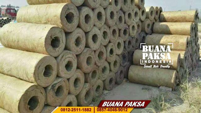 Distributor Rockwool Pipe Insulasi Wilayah Pasuruan