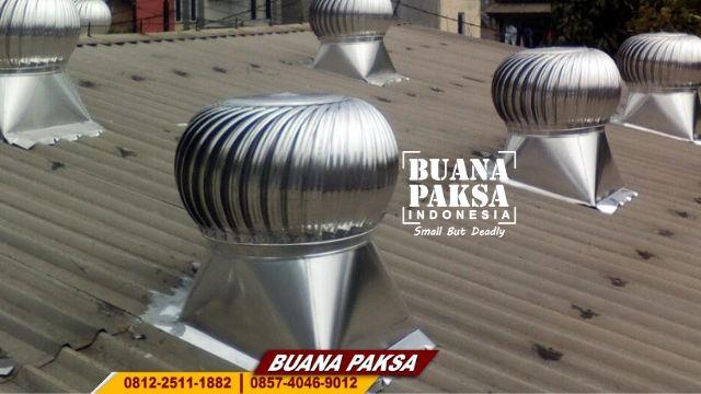 Jasa Pemasangan Turbin Ventilator Cyclone Wilayah Besuki