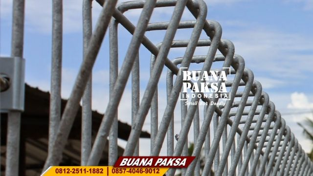 Jasa Pemasangan Pagar BRC Heavy Duty Wilayah Cilacap