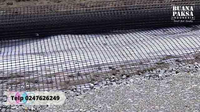 Distributor Geogrid Tensar HDPE  Palu