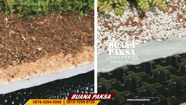 Supplier Matrial Drainage Cell Pembuat Roff Garden  Blora