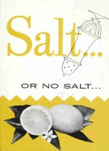 Salt ... or No Salt ...