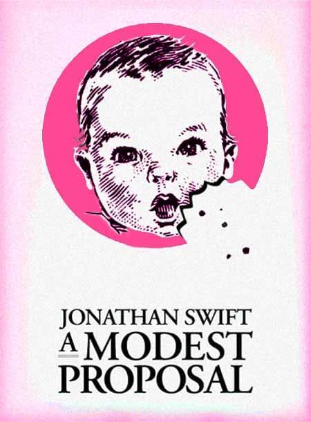 #freebooks – A Modest Proposal by Jonathan Swift