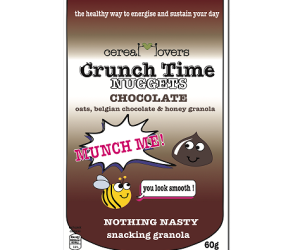 Crunch Time Nuggets Chocolate Snacking Granola