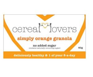 Simply Orange Granola Single Serving
