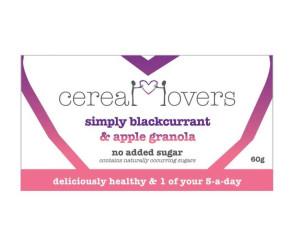 Simply Blackcurrant & Apple Granola Single Serving