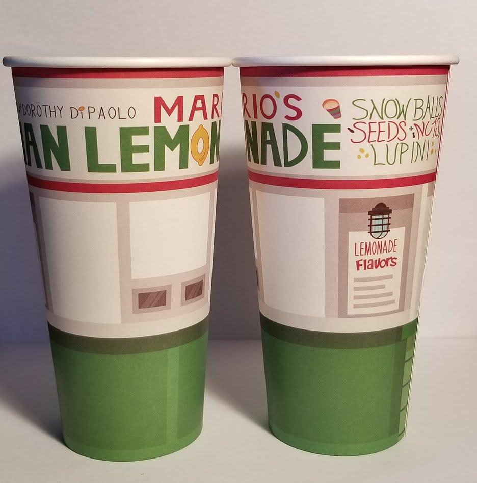 Custom Single Wall Cup