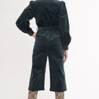 Louche-Mollie-Babycord-Green-Jumpsuit