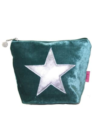 Teal Star Washbag