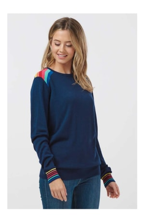 Rita Prism Rainbow Sweater