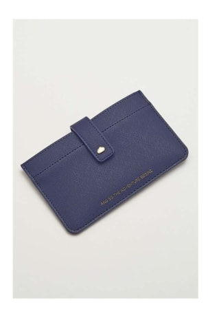 Navy Travel Wallet