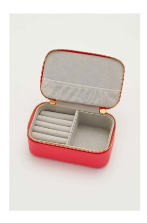 Coral Mini Jewellery Box