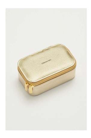 Gold Mini Jewellery Box