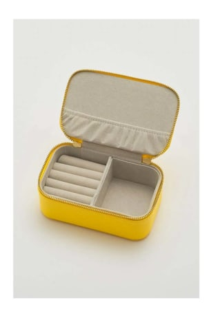 Yellow Mini Jewellery Box