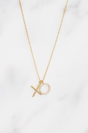 XO Gold plated Necklace