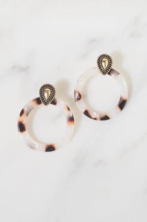 Jools Tortoiseshell Earrings