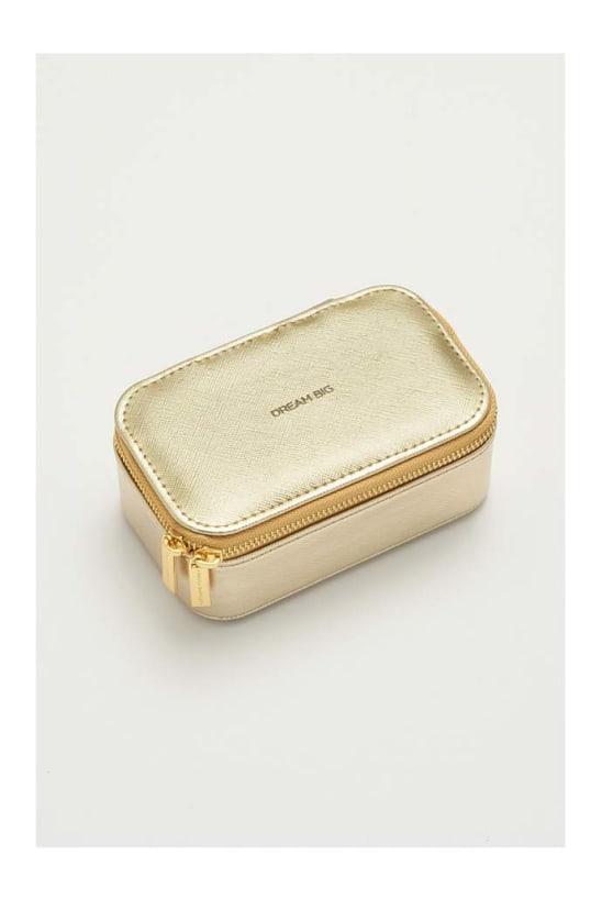 Gold Mini Jewellery Box