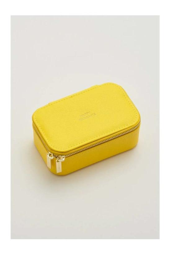 Yellow Mini Jewellery Box