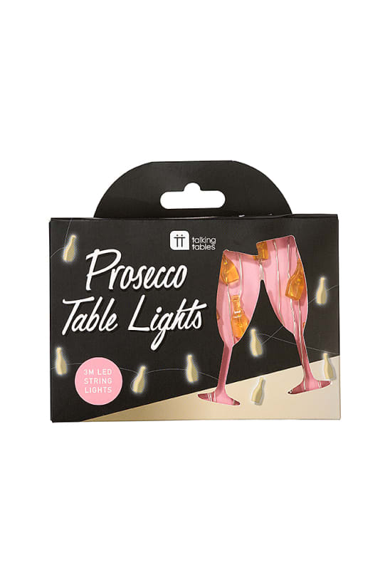 Prosecco String Table Lights