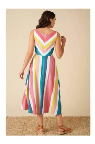 Margot Stripe Dress