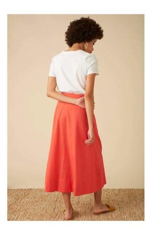 Brianna Red Skirt