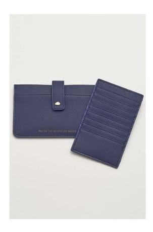 Navy Travel Wallet