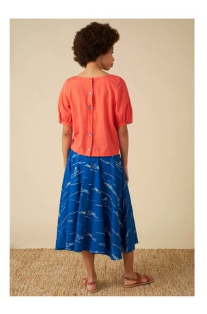 Sandy Blue Divers Skirt