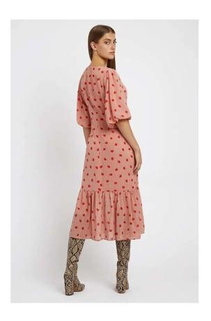 Zeyneb Oakleaf Midi Dress
