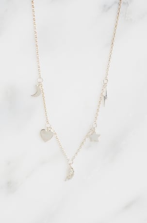 Multi Lucky Charm Necklace