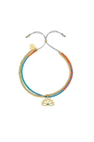 Lotus Phoebe Gold Plated Bracelet