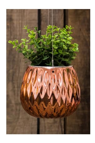 Lund Home Copper Hanging Pot