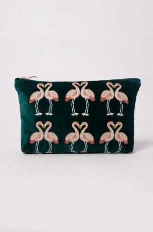 elizabeth-scarlett-emerald-flamingo-travel-pouch