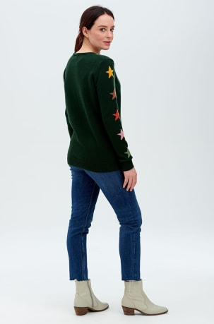 Sugarhill Stacey Jumper in Autumnal Star