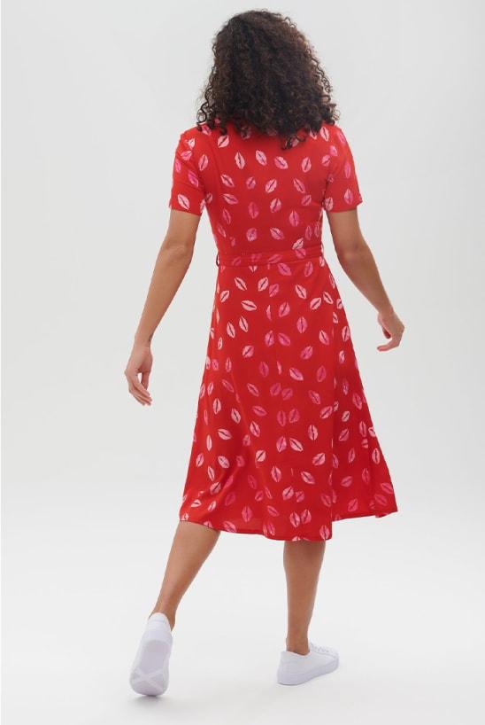 sugarhill-kendra-red-lip-shirt-dress