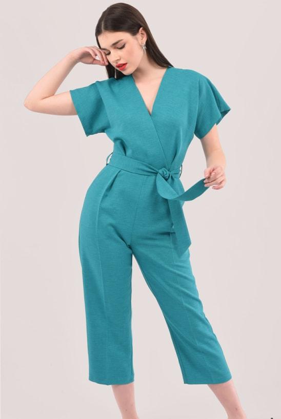 closet-london-wrap-over-jumpsuit-blue