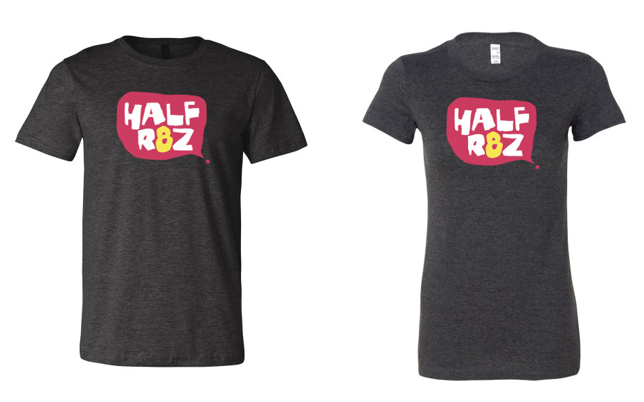 It's the official Half Rez 8 t-shirt