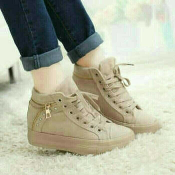 jual Sepatu Boots Wanita Korea SBO326