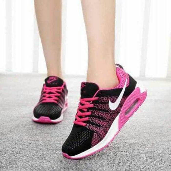 jual Sepatu Wanita Kets Casual SDS219 Pink
