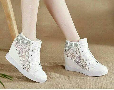 jual Sepatu Boots Wanita Korea Brukat SBO328