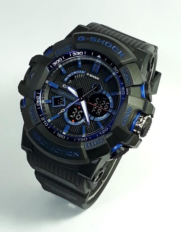 jual Jam tangan SPORT New G-SHOCK G Shock GS2397 black blue