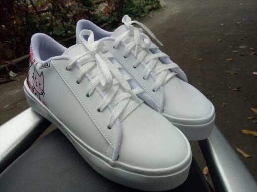 jual Sepatu Wanita Kets Casual Ayunina Putih SDS227