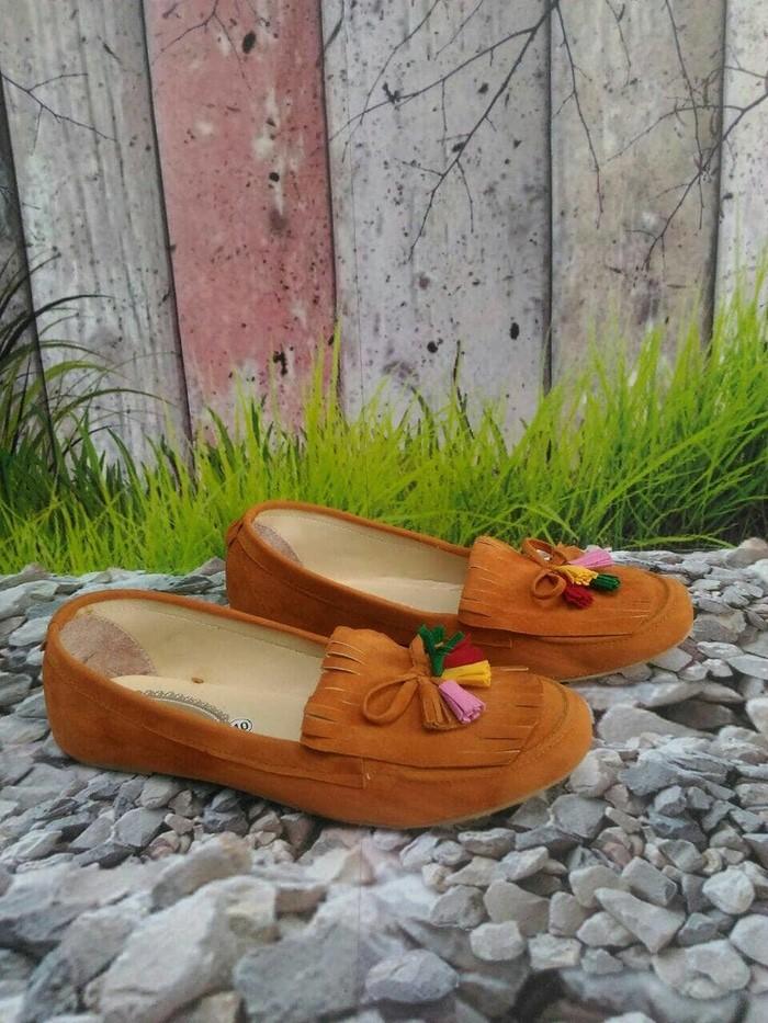 jual Sepatu Wanita Flat Shoes Rawis SDB88