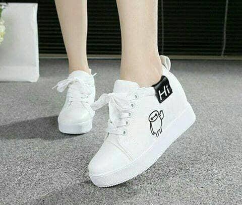 jual Sepatu Boots Wanita HI SBO324 Putih