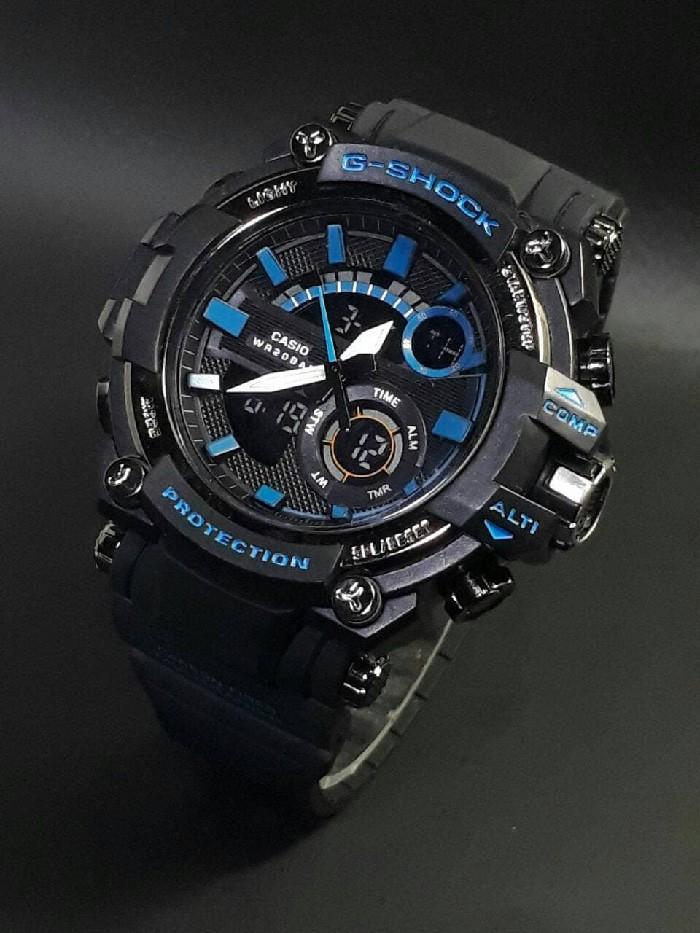 jual Jam tangan SPORT New G-SHOCK G Shock GST201 black blue