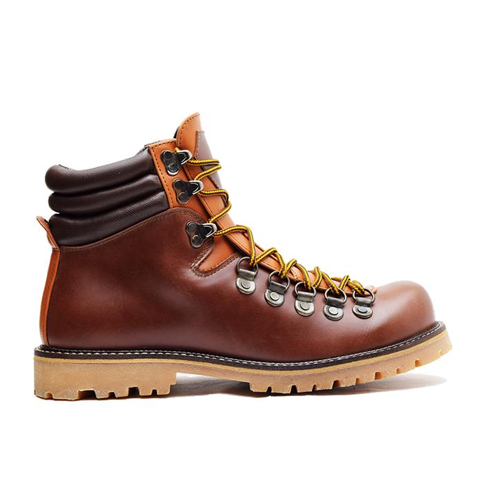 jual Sepatu Boots Pria WETAN Kartanegara 2 DeluxePull Up Leather Waterproof - Cokelat Tua