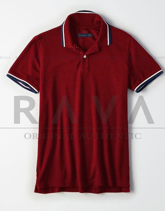 jual Baju Kaos Polo Lacoste Pique Premium by RAVA (BEST SELLER   - Putih