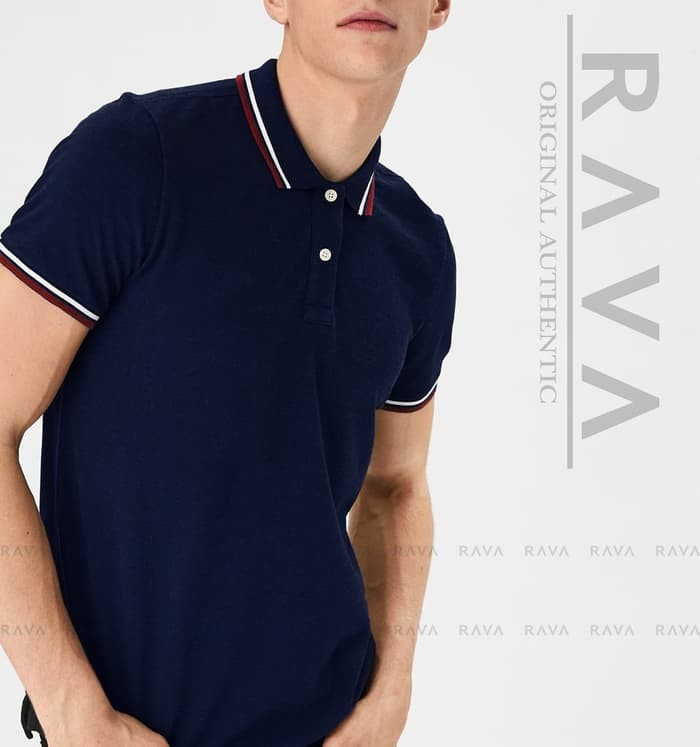 jual Baju Kaos Polo Lacoste Pique by RAVA   (PROMO BEST SELLER) - Putih