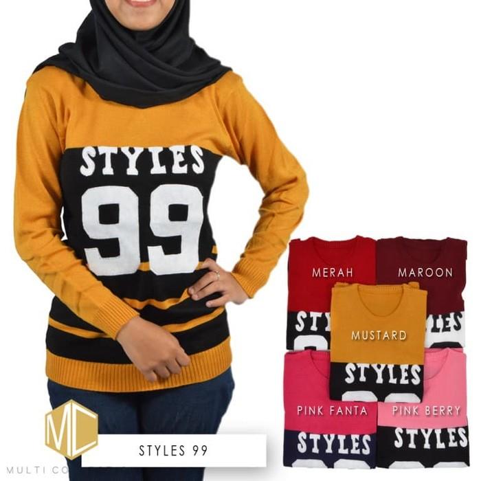 jual Styles 99 Sweater -Baju Rajut-Sweater Rajut-Sweater Wanita-Baju Wanita